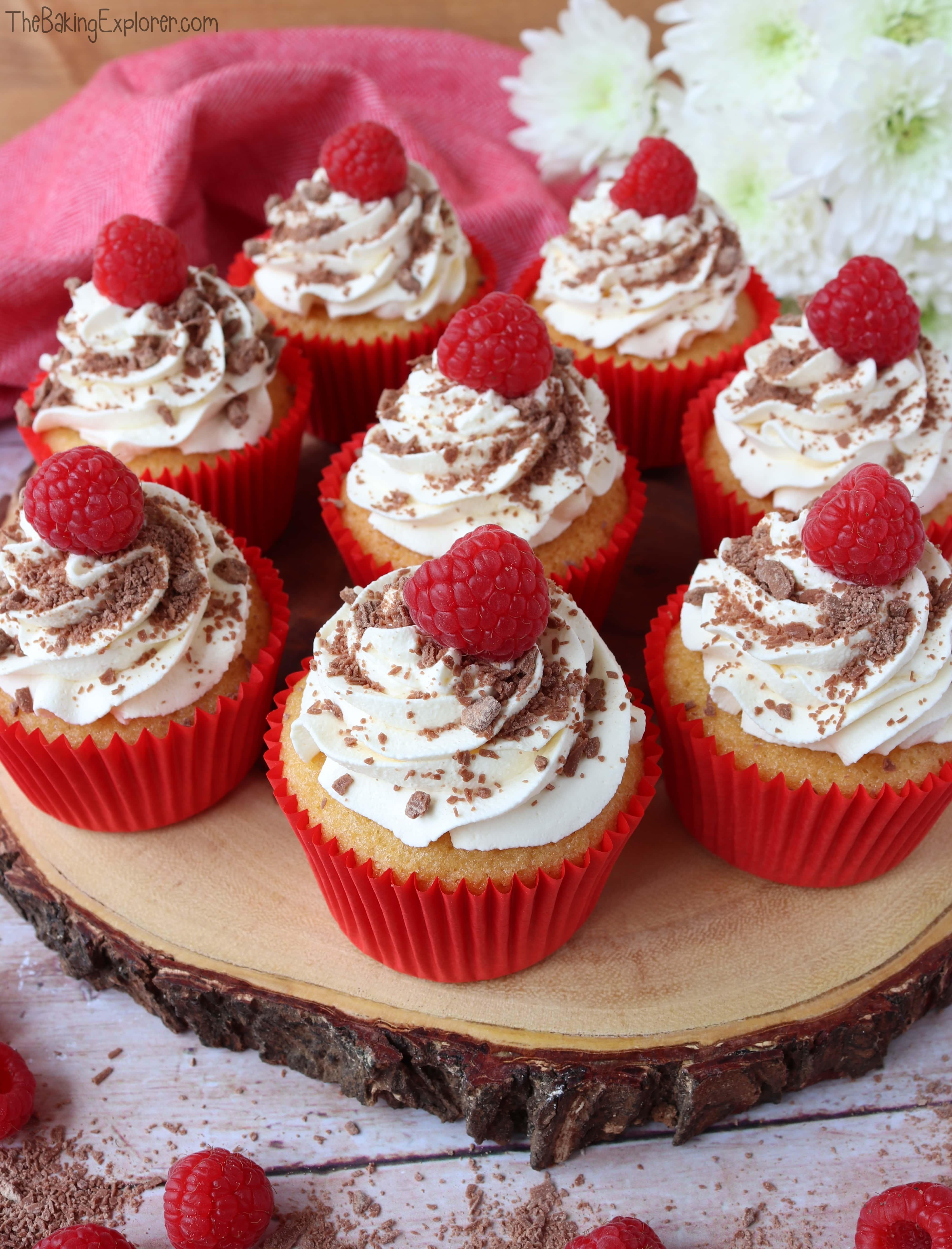 Trifle Cupcakes