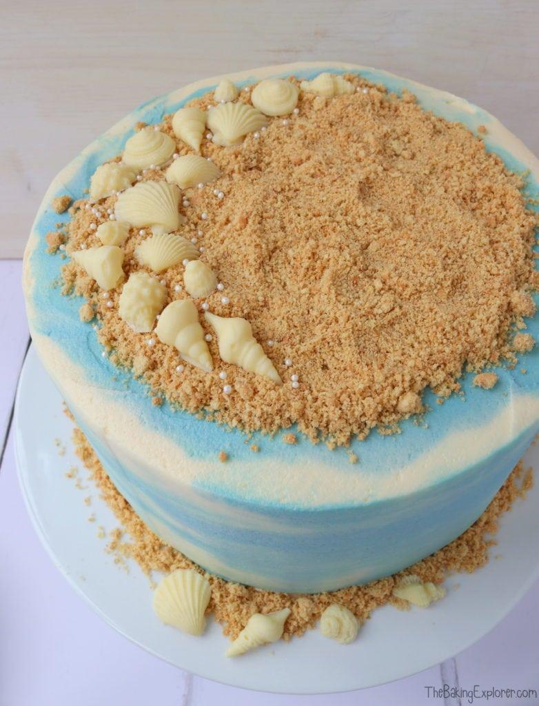 Coconut Beach Cake