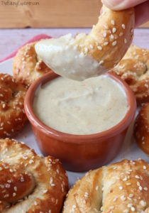 Soft Pretzels with Cheese Dip