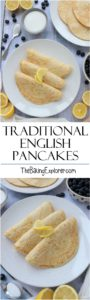 Traditional English Pancakes