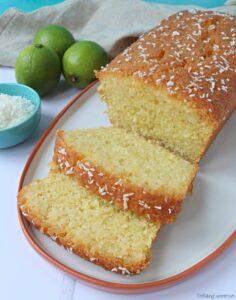 Coconut & Lime Loaf Cake