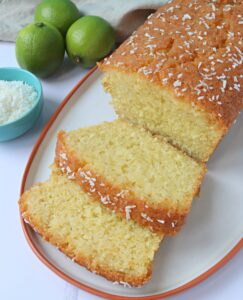 Coconut & Lime Loaf Cake