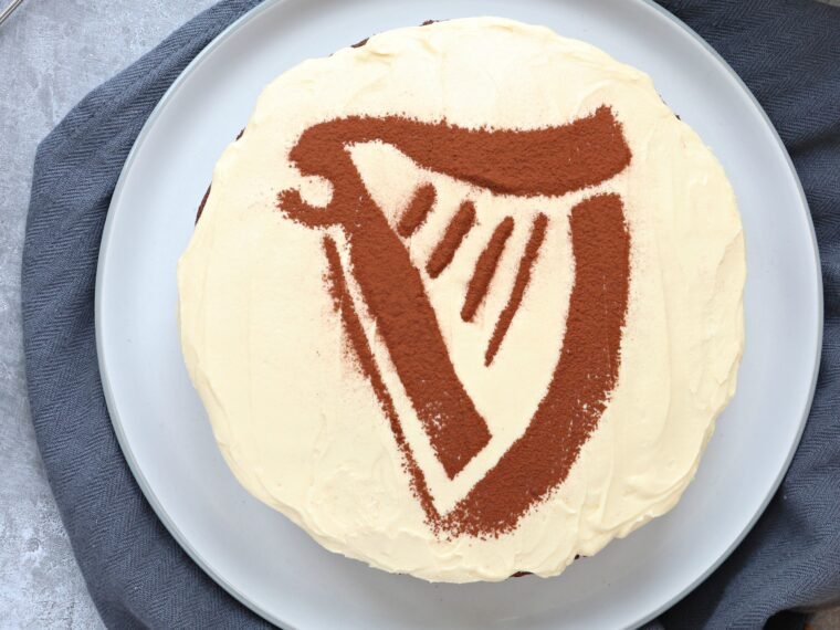 Chocolate Guinness Cake with Baileys Buttercream