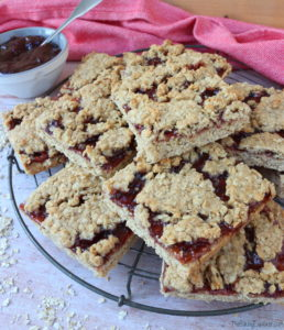 Spiced Jammy Flapjacks