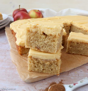 Apple Cake Traybake