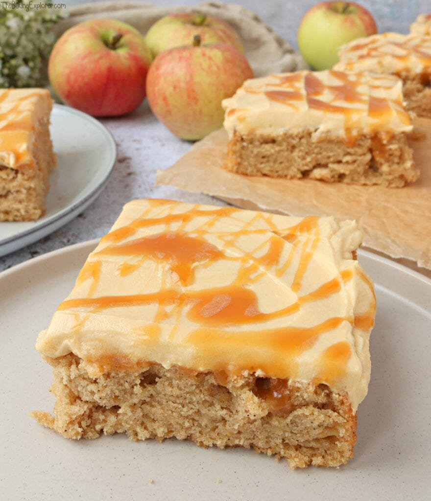 Apple Cake Traybake