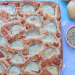 Potato & Halloumi Focaccia