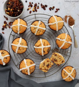 Hot Cross Muffins