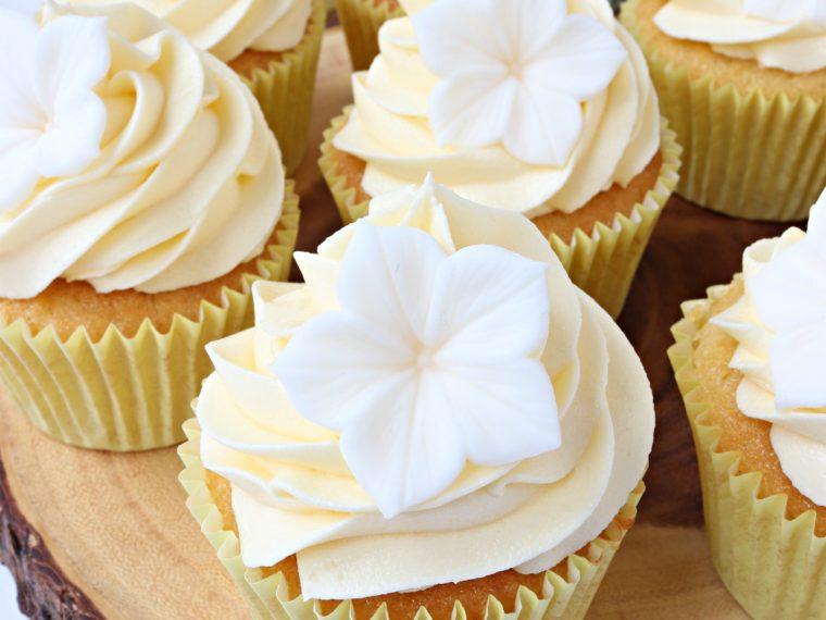 Lemon & Elderflower Cupcakes