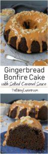 Gingerbread Bonfire Cake