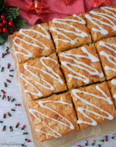 Mince Pie Bakewell Squares
