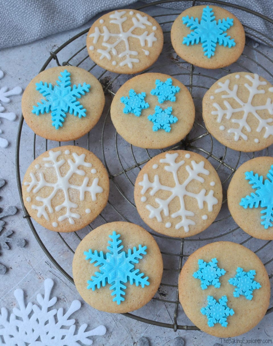 Snowflake Biscuits