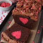 Hidden Heart Loaf Cake