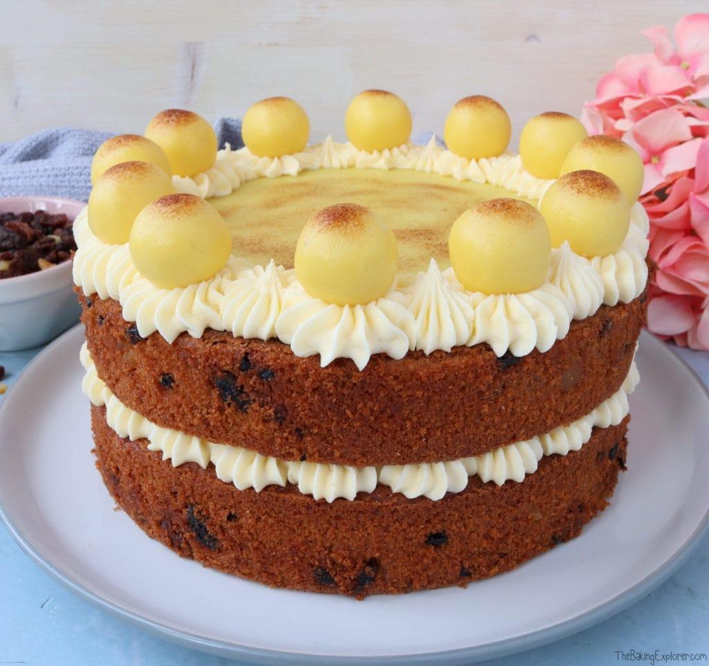 Modern Simnel Cake