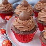 Lindt Chocolate Cupcakes