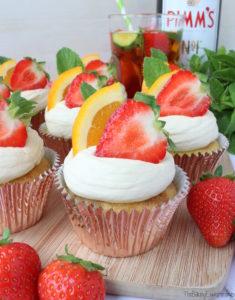 Pimms Cupcakes