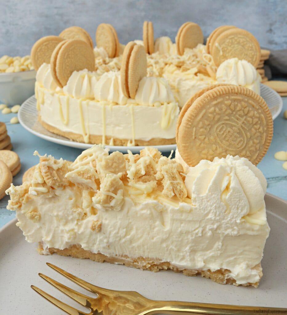 Golden Oreo Cheesecake