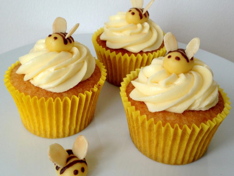 Honey & Orange Cupcakes