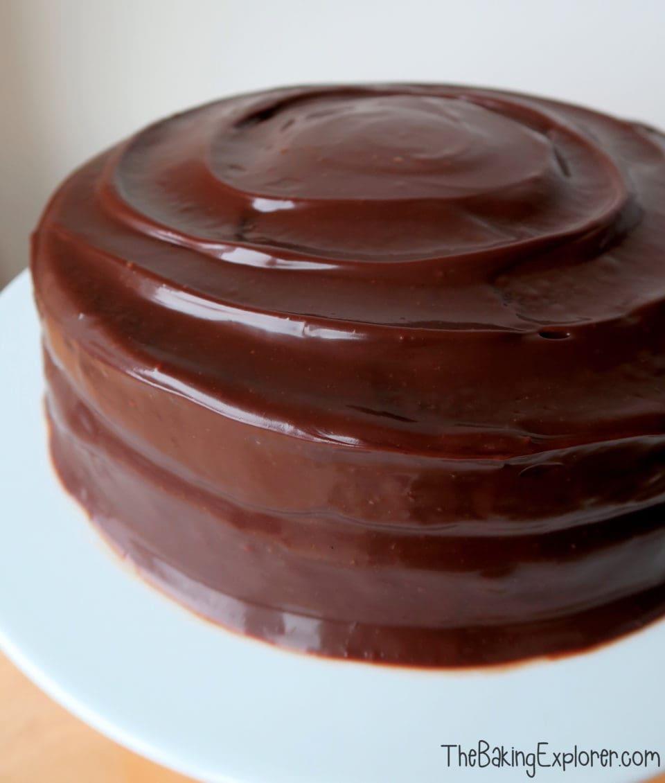 Chocolate Fudge Cake The Baking Explorer