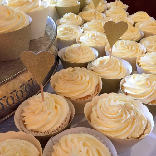 Butterbeer Wedding Cupcakes