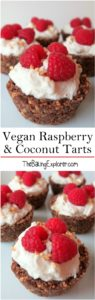Raspberry & Coconut Tarts