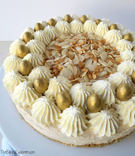 Simnel Spiced Easter Cheesecake