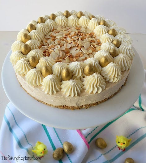 Simnel Spiced Easter Cheesecake (No Bake)