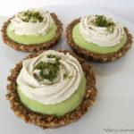 vegan mini key lime pies