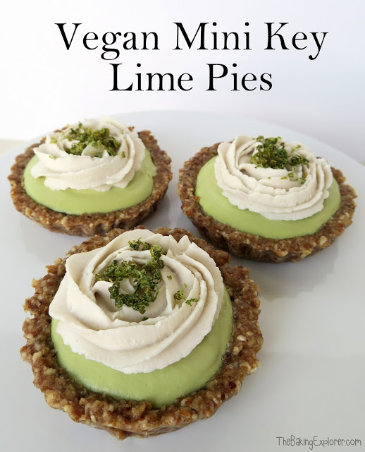 Vegan Mini Key Lime Pies
