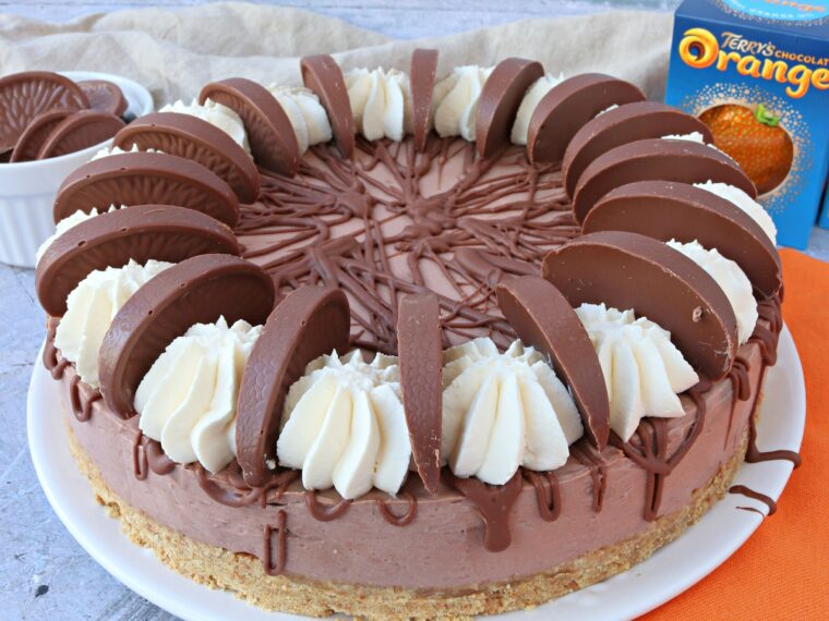 Terry's Chocolate Orange Cheesecake (No Bake)