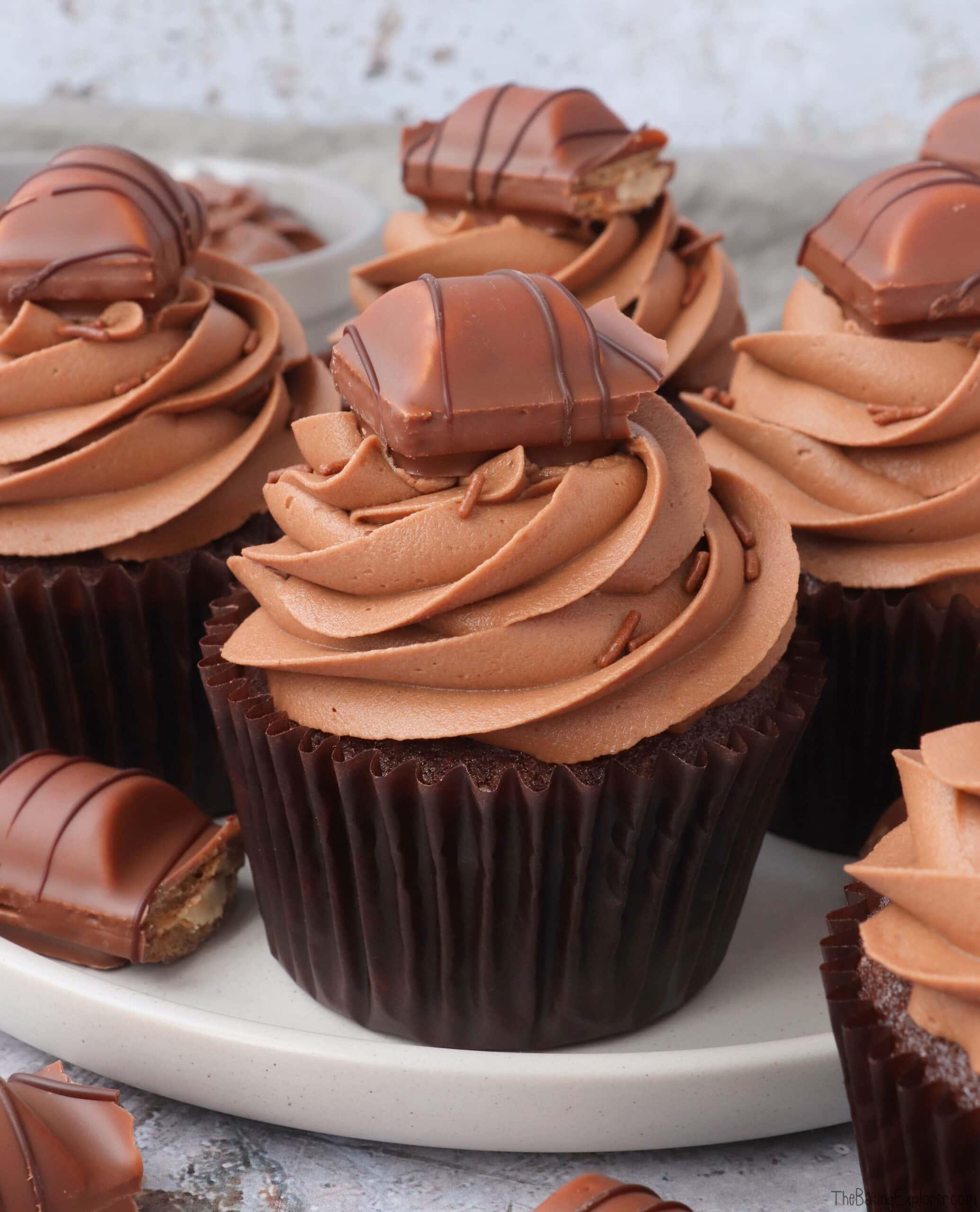 Nutella Bueno Cupcakes