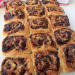 Onion Chutney & Cheese Swirl Bread