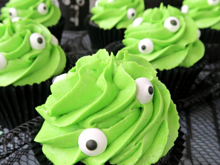 Slime Cupcakes