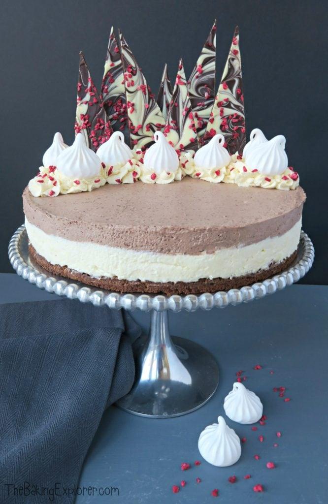 white chocolate cheesecake cupcakes