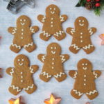 vegan gingerbread men