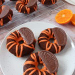 Chocolate Orange Baked Donuts