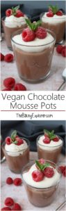 Vegan Chocolate Mousse Pots