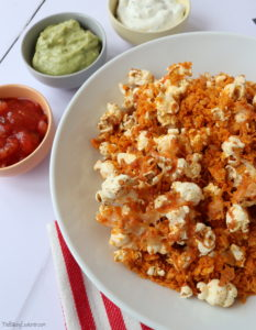 Cheesy Nacho Popcorn