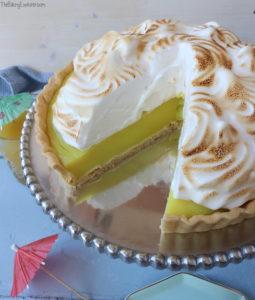 Vegan Pineapple Meringue Pie