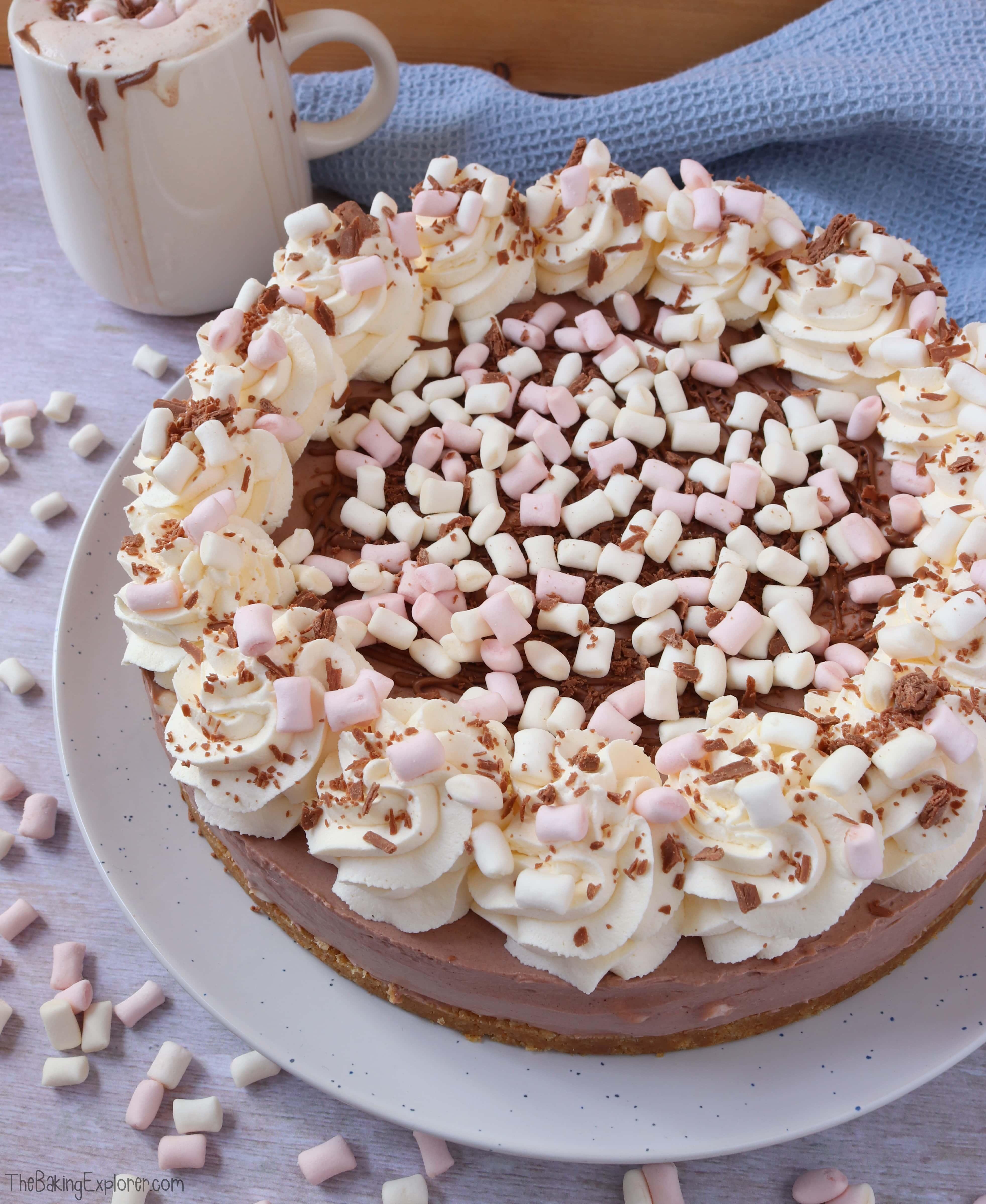 Hot Chocolate Cheesecake