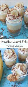 Banoffee Dessert Pots