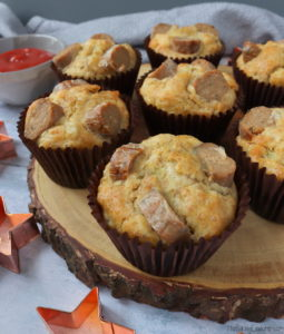 Sausage, Cheese & Onion Muffins