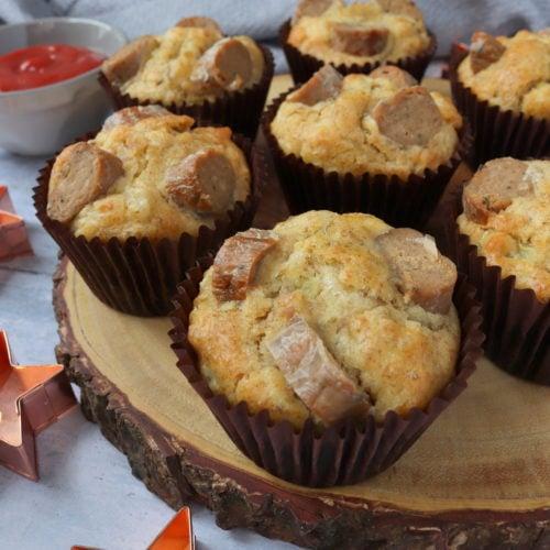 Sausage, Cheese & Onion Muffins
