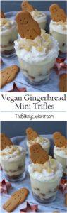 Vegan Gingerbread Trifles