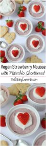 Vegan Strawberry Mousse