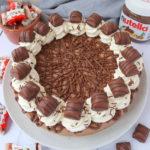 Nutella Bueno Cheesecake (No Bake)