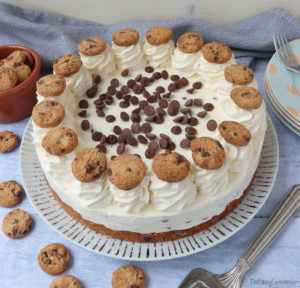 Choc Chip Cookie Cheesecake