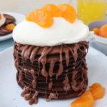 Chocolate Orange Pancakes