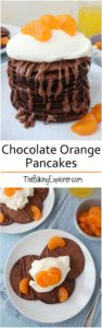 Chocolate Orange Pancakes