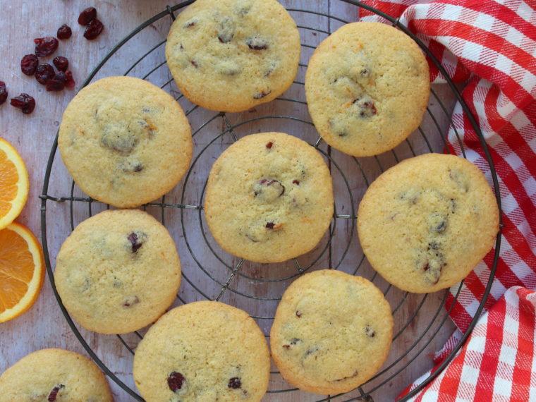 Orange & Cranberry Cookies